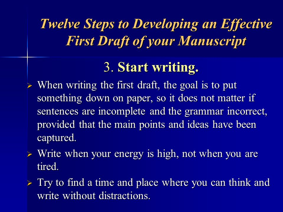 Revising the Abstract Read your abstract all the way through: Read your abstract all the way through: –add transition words to tie ideas together, –eliminate unnecessary content and add in things that are missing, –correct errors in mechanics, and –proofread.