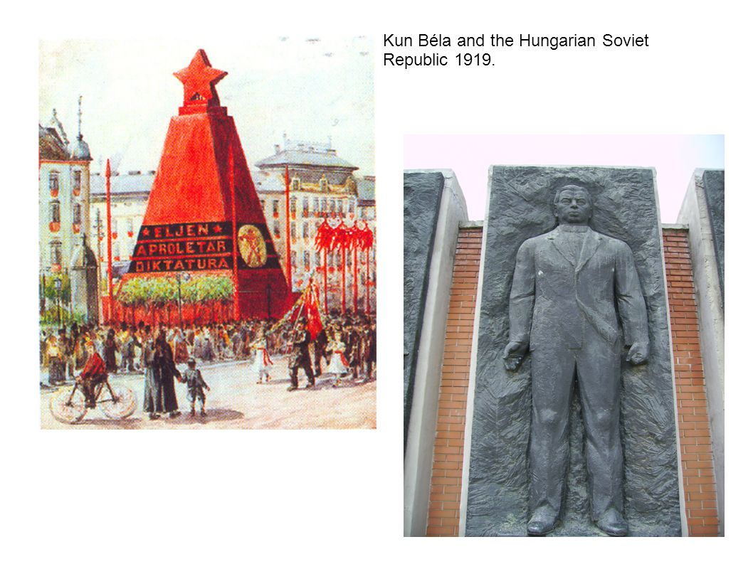 Kun Béla and the Hungarian Soviet Republic 1919.