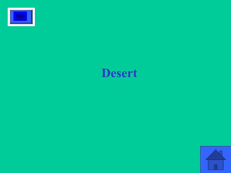 Desert 500