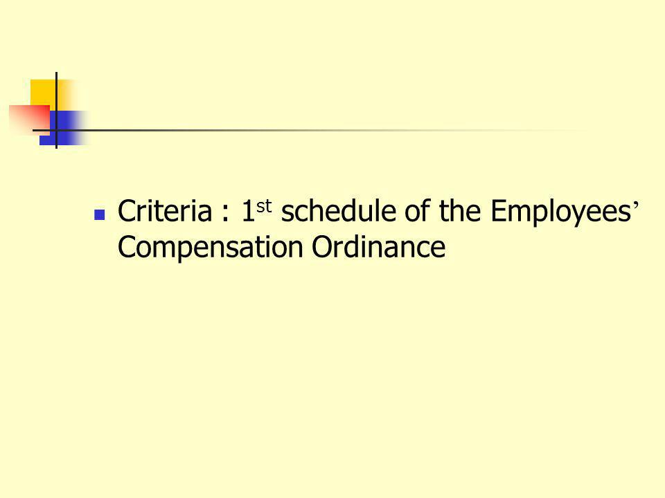 Re-assessment If either party (employer or I/P) raised an objection to the assessment result, OMU will rearrange a reassessment board If they dissatisfy with the assessment result, they have to raise an objection to the court