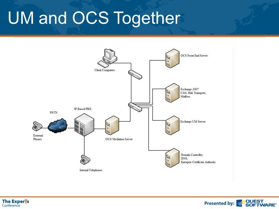 UM and OCS Together