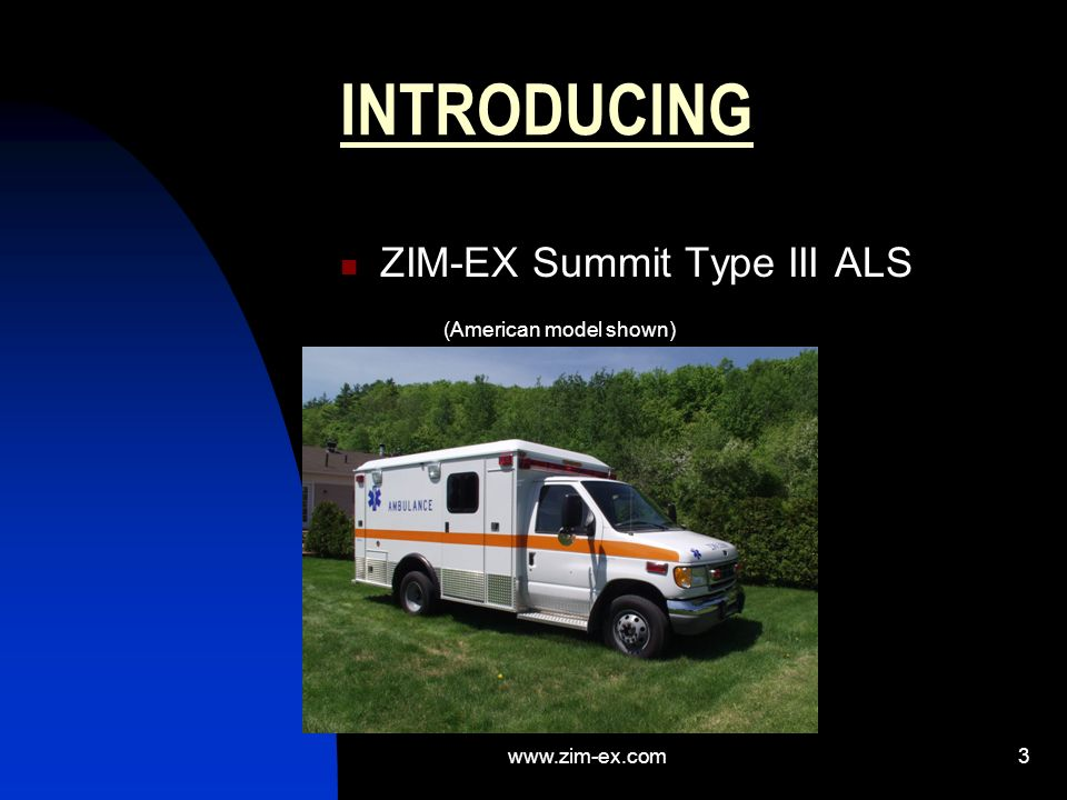 www.zim-ex.com2 INTRODUCTION ZIM-EX SUMMIT PRESENTATION