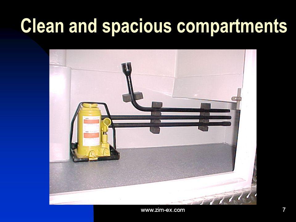 6 Vacuum formed compartments with ambient temperature control Détails sur ce sujet Informations et exemples complémentaires Rapports avec l assistance