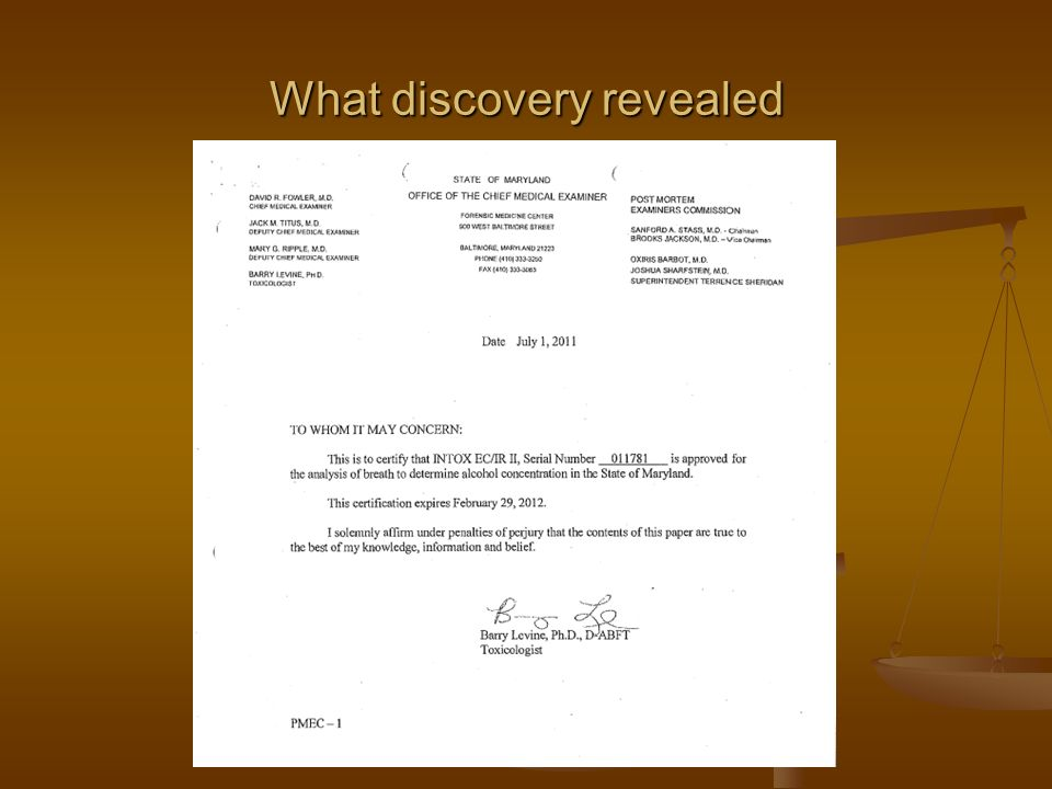 What discovery revealed