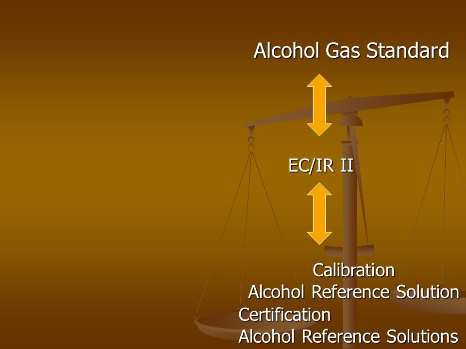 Alcohol Gas Standard Calibration Alcohol Reference Solution EC/IR II Certification Alcohol Reference Solutions