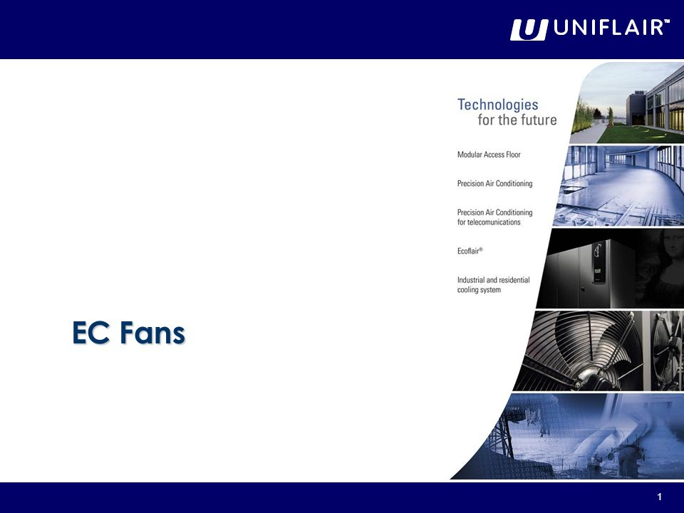 2 Leonardo Evolution units offer the possibility to choose between two different types of Backward Curved Fans: Standard Asynchronous Fans on T**R units; Brushless Electronically Commutated Fans on T**V units.
