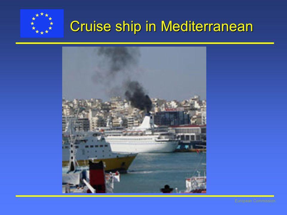 European Commission: Cruise ship in Mediterranean