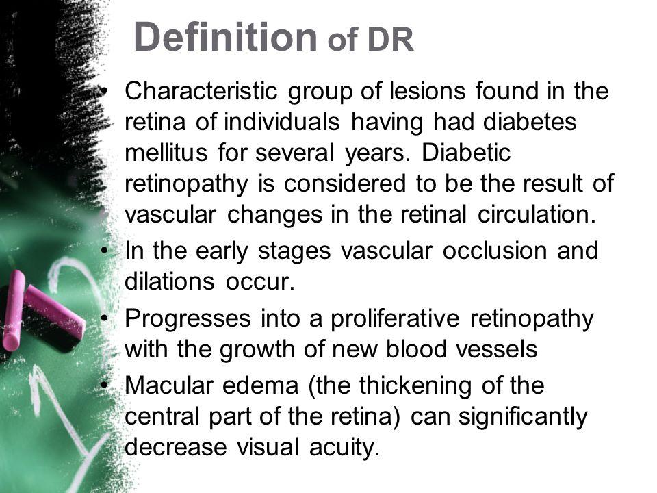 Diabetic Retinopathy Definition Prevalence Treatment Risk Factors