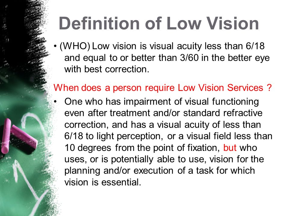 Presbyopia As people age, they often begin to have difficulty focusing their eyes for reading or close work. This is called presbyopia and is the norm
