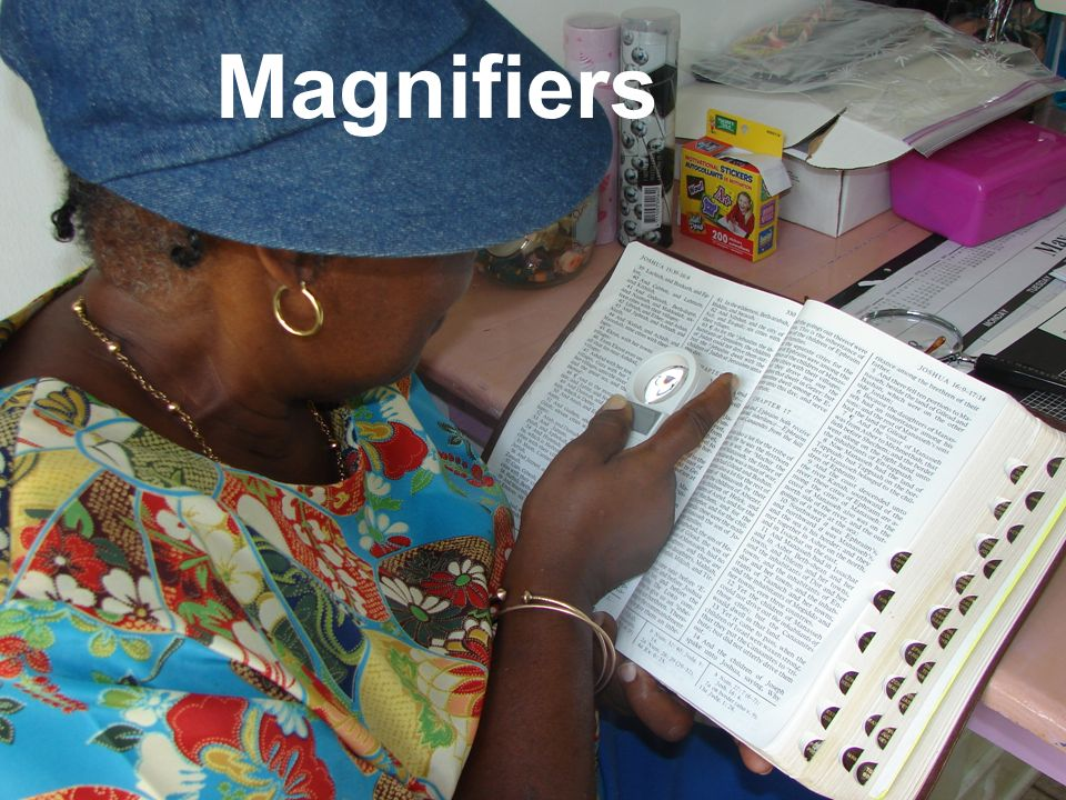 This workshop is funded by the European Union Magnifiers