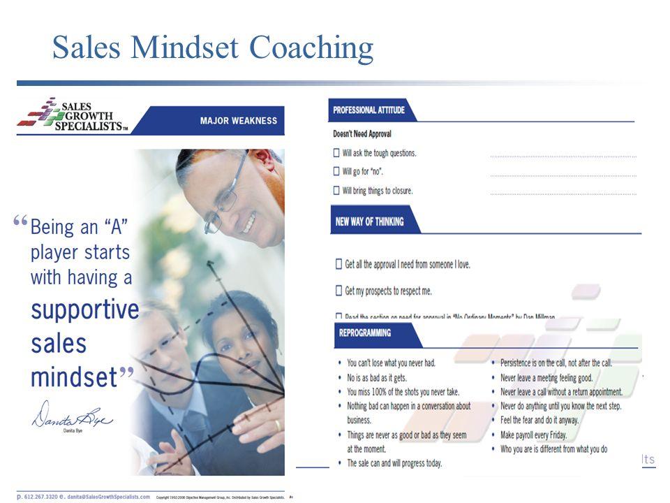 Sales Mindset Coaching