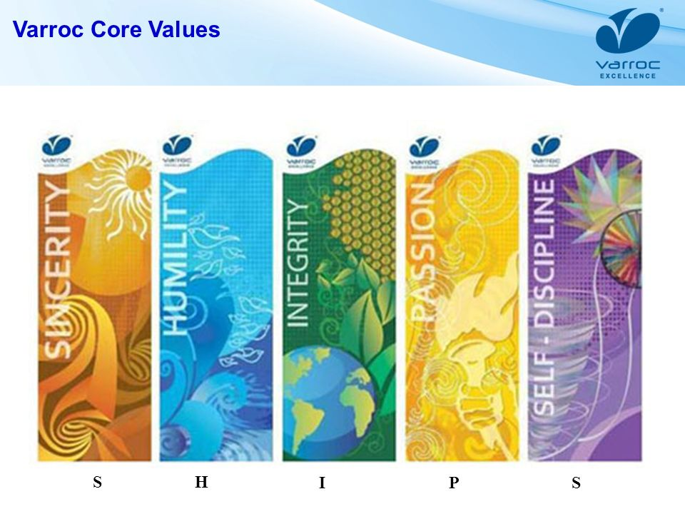 Varroc Core Values SH IPS