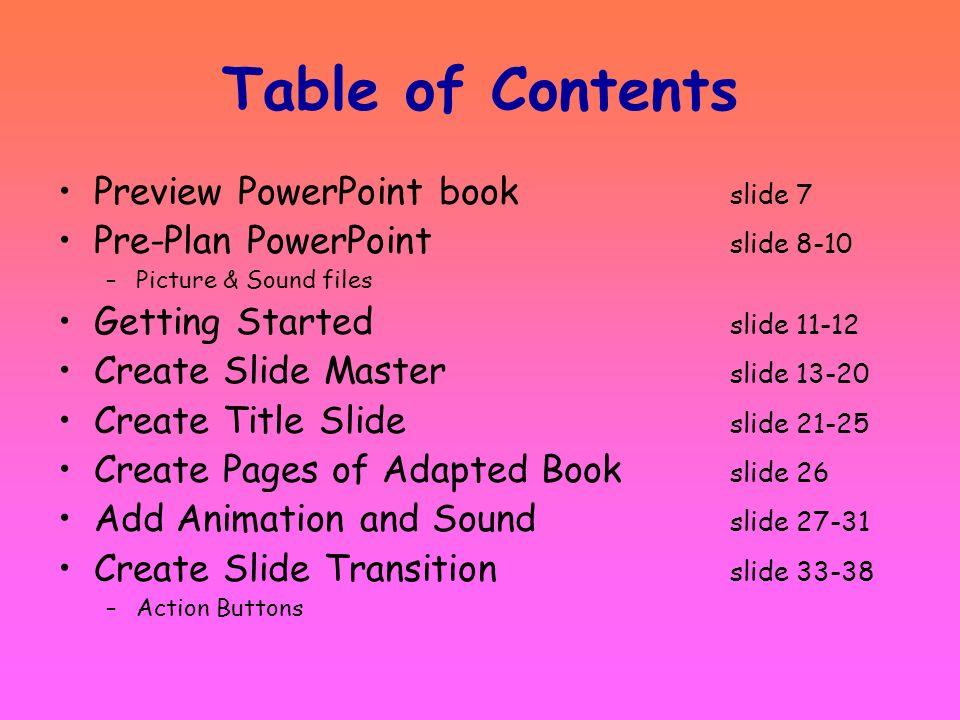 Print Tutorial Handout Select –Handout –Pure Black & White –Choose 3 or 6 slides per page