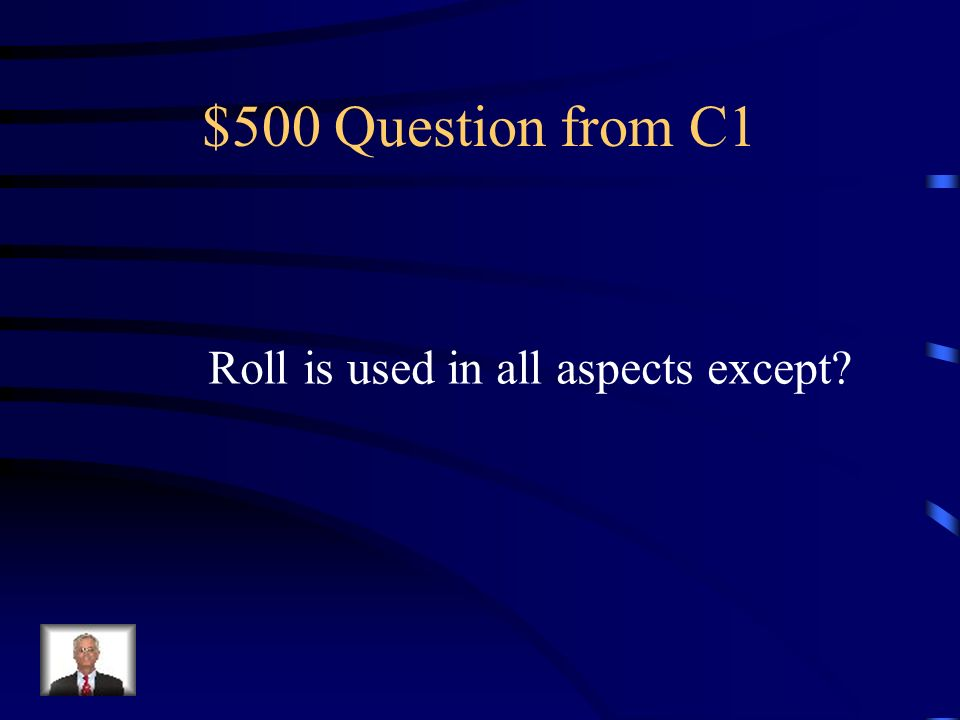 $400 Answer from C1 Five