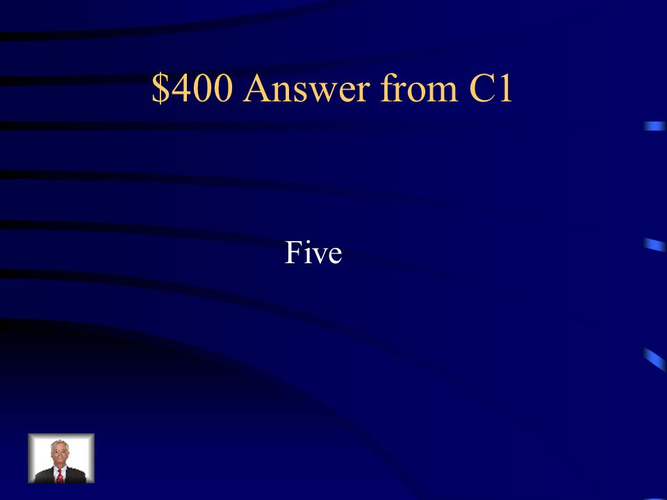 $400 Answer from C4 Abingdon