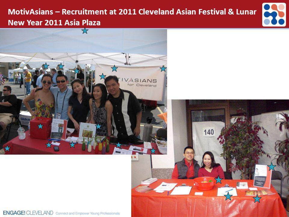 MotivAsians – Recruitment at 2011 Cleveland Asian Festival & Lunar New Year 2011 Asia Plaza