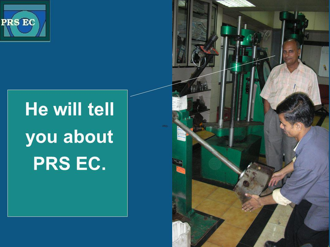 PRS He will tell you about PRS EC.