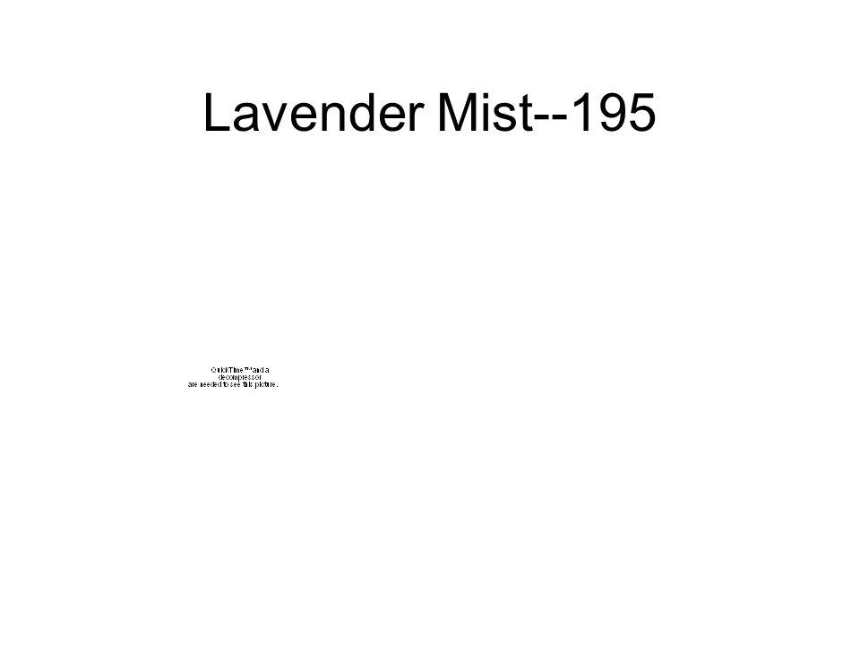 Lavender Mist--195