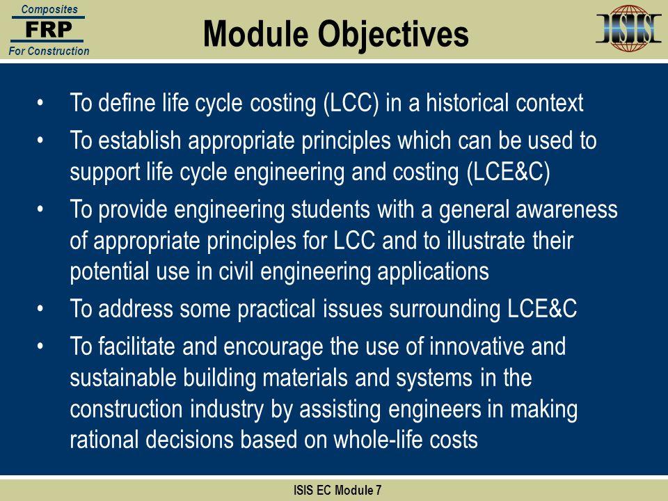 Section:4 ISIS EC Module 7 FRP Composites For Construction 6.