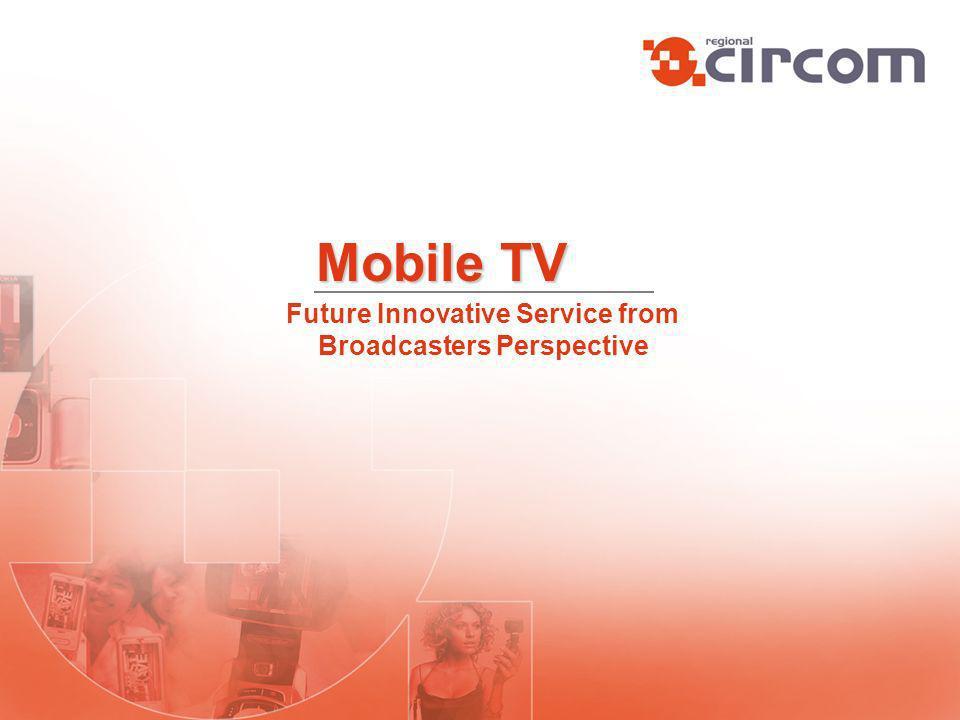 HDTV DMB DVB-TDVB-H IPTV New Media Technologies Contents (TV, Films, Internet, …) Better Quality On Demand Ubiquity Adaptable Bandwith Individual Interactive New Platforms