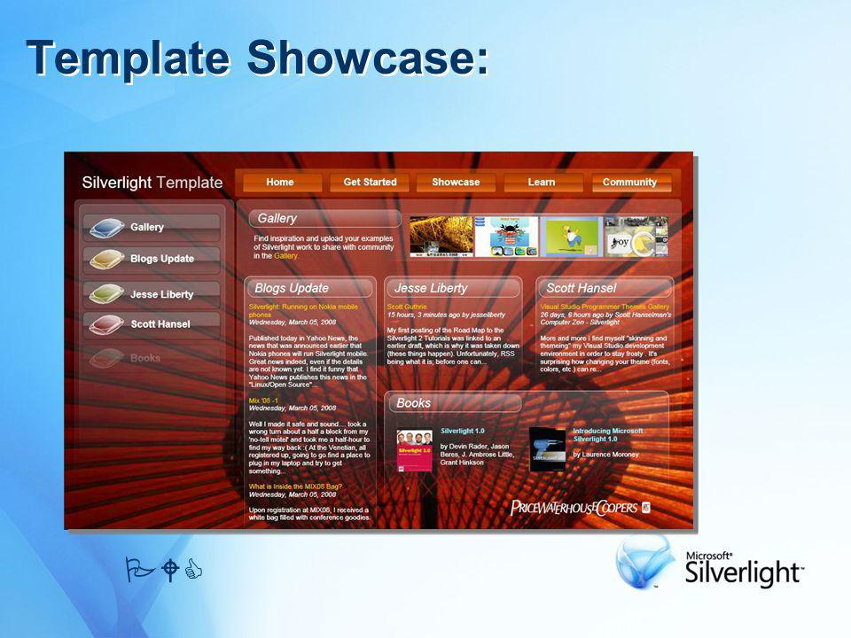 Template Showcase: