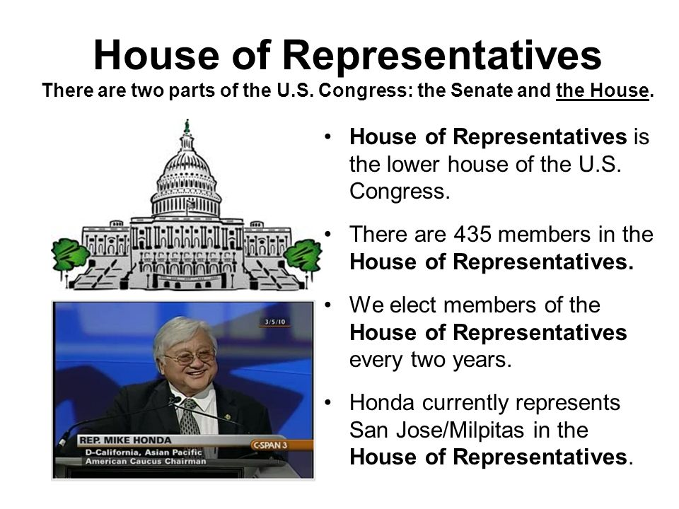 Senate & Senator The Senate is the upper house of the U.S.
