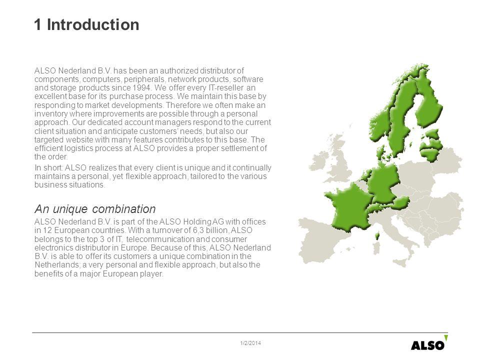 1 Introduction ALSO Nederland B.V.