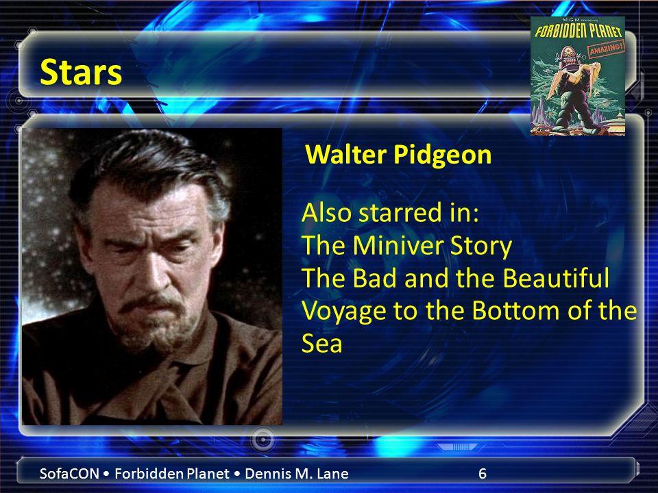 Stars SofaCON Forbidden Planet Dennis M.