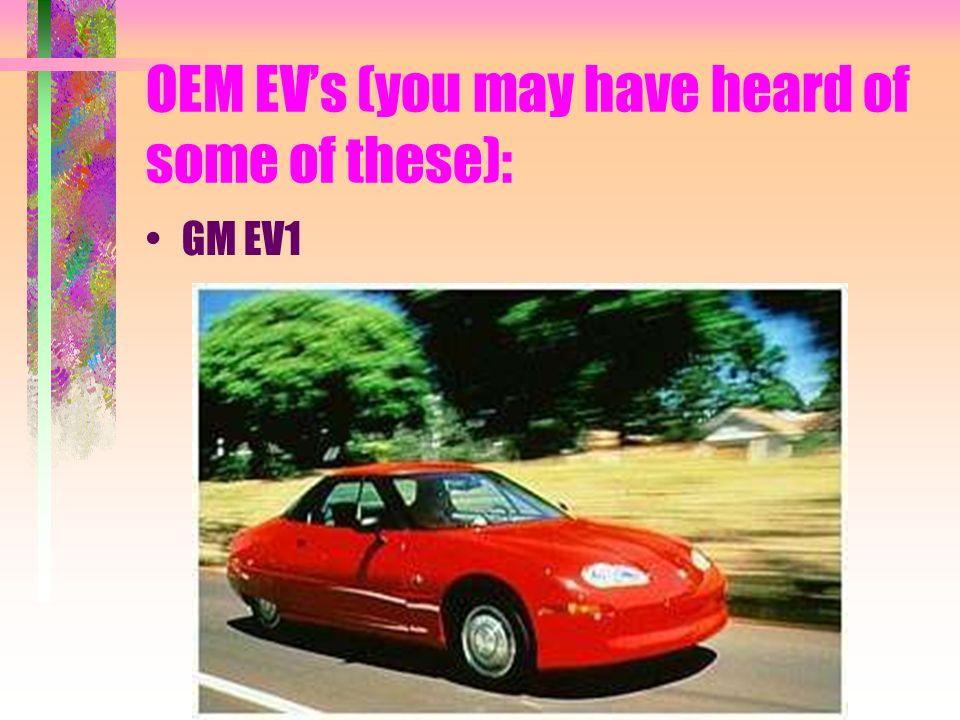 OEM EVs: Solectria Force