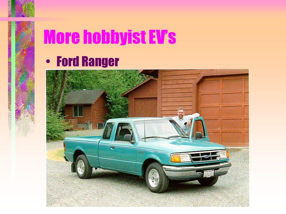 More hobbyist EVs Ford Ranger