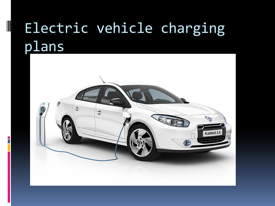 Electric vehicle charging plans