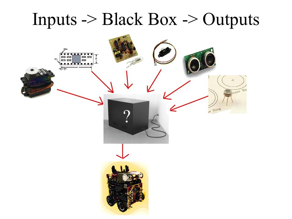 Inputs -> Black Box -> Outputs ?