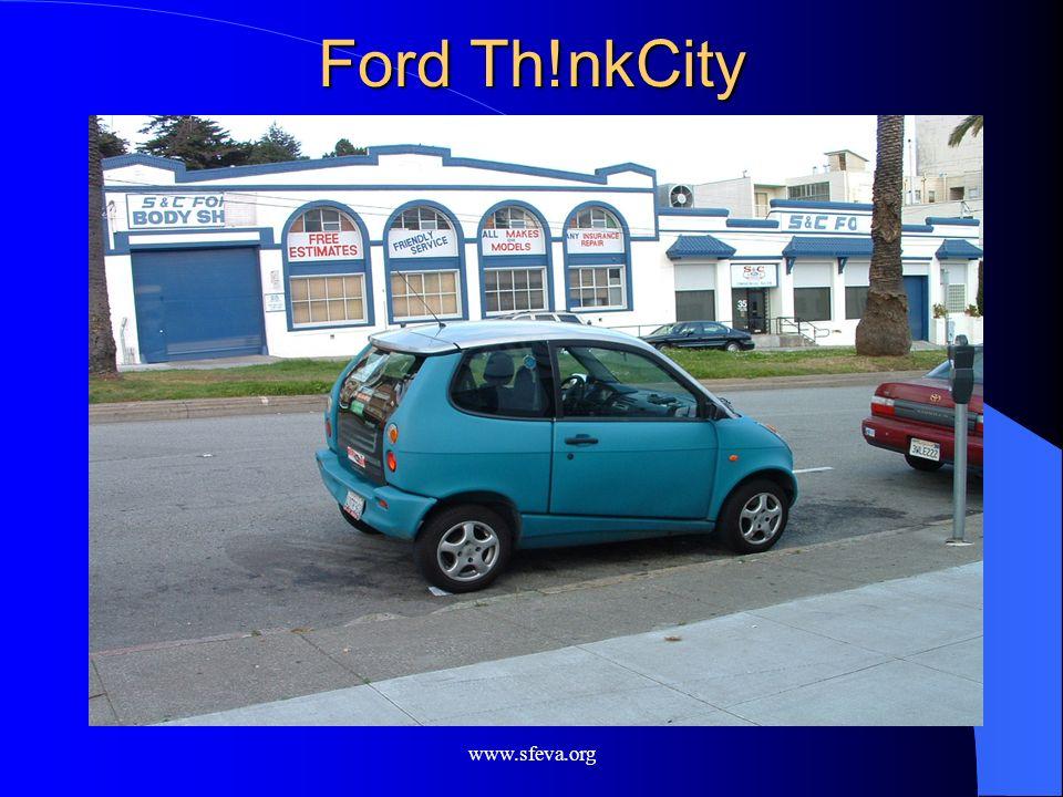 www.sfeva.org Ford Th!nkCity
