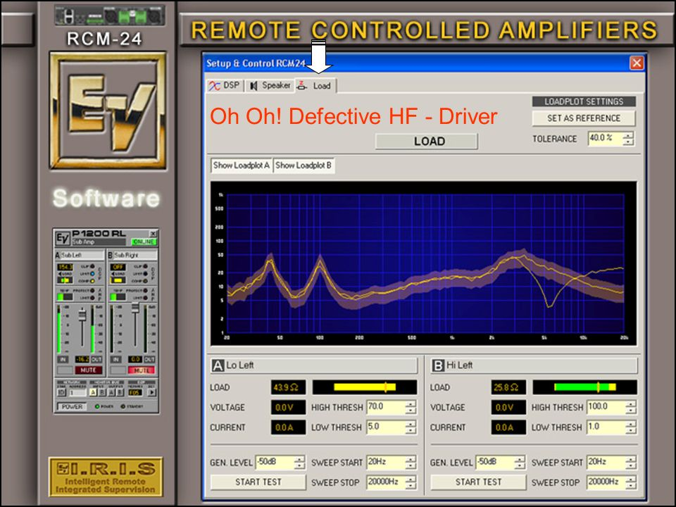 Oh Oh! Defective HF - Driver