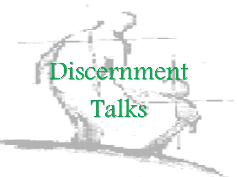 DiscernmentTalks