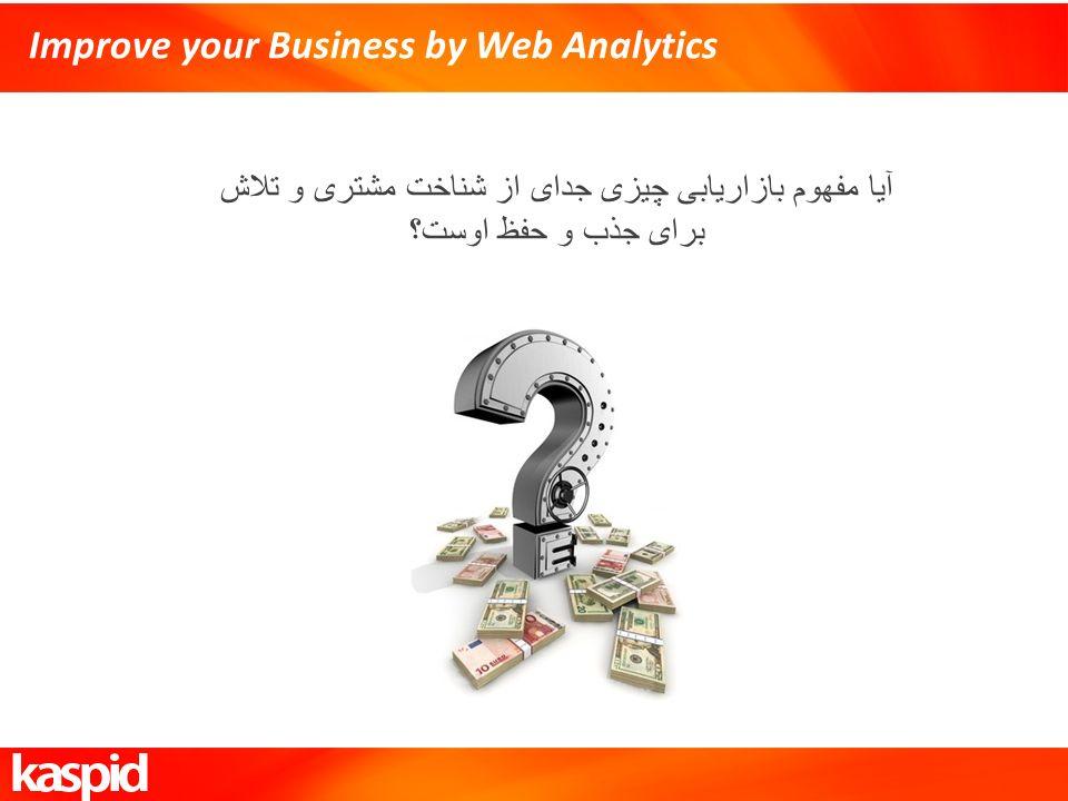 Improve your Business by Web Analytics آیا مفهوم بازاریابی چیزی جدای از شناخت مشتری و تلاش برای جذب و حفظ اوست؟