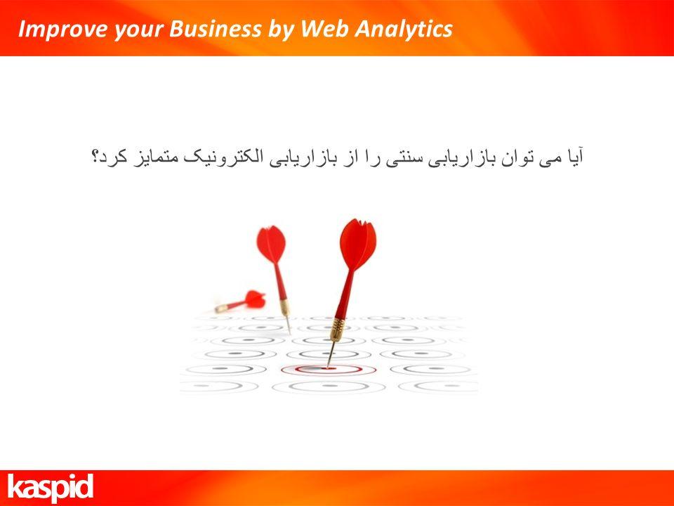 Improve your Business by Web Analytics آيا می توان بازاریابی سنتی را از بازاریابی الکترونیک متمایز کرد؟