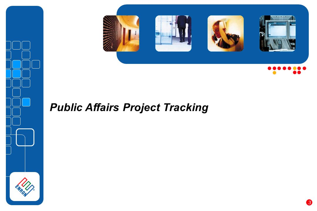 Public Affairs Project Tracking 3