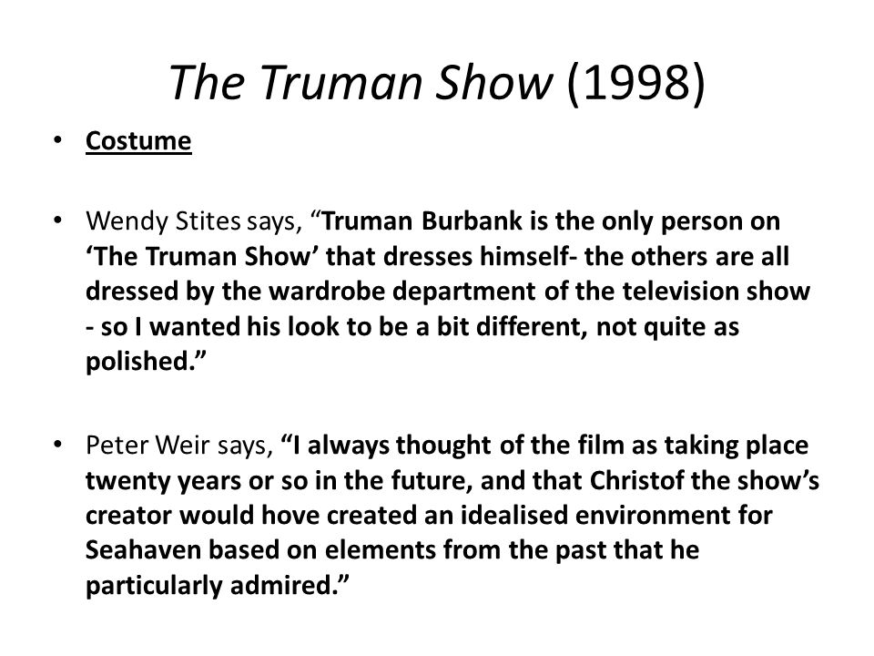 film analysis the truman show essay proofreadingonlinekhabar x  film analysis the truman show essay