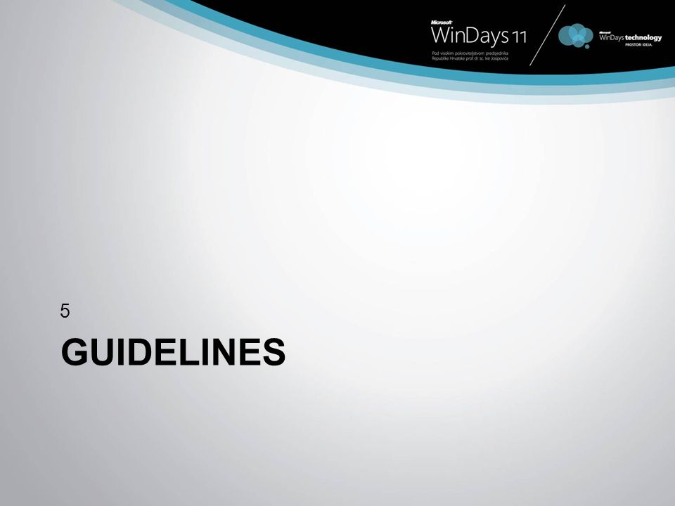GUIDELINES 5