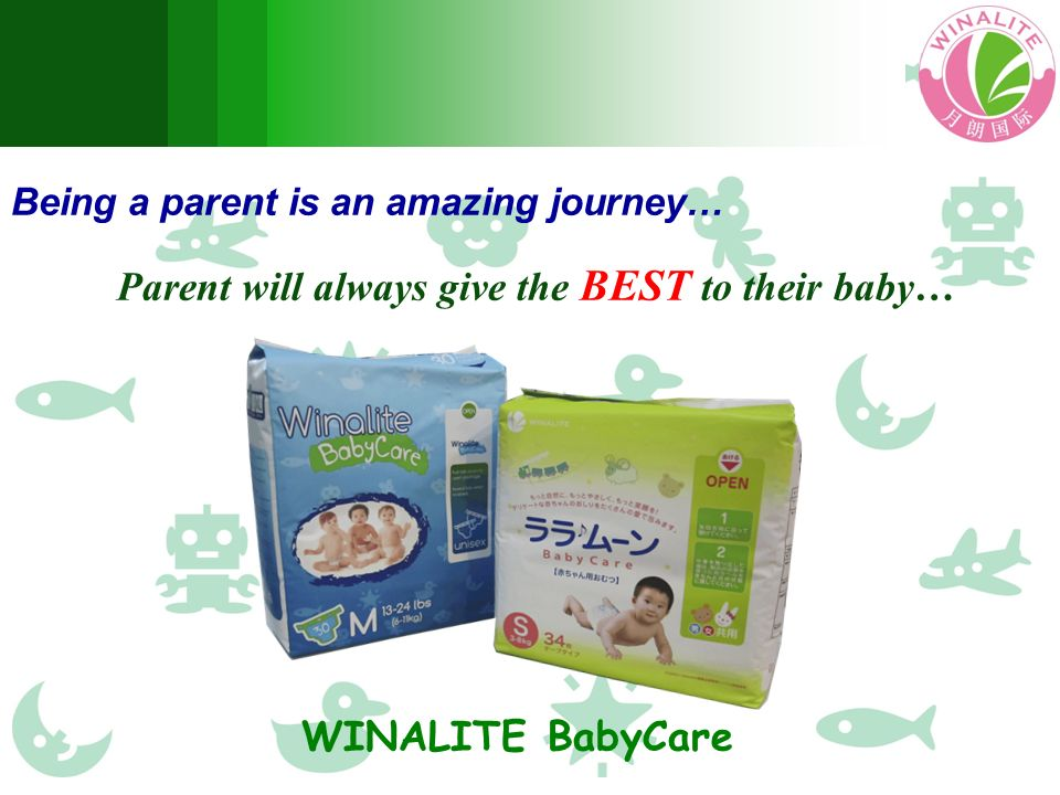 Being a parent is an amazing journey… Parent will always give the BEST to their baby… WINALITE BabyCare