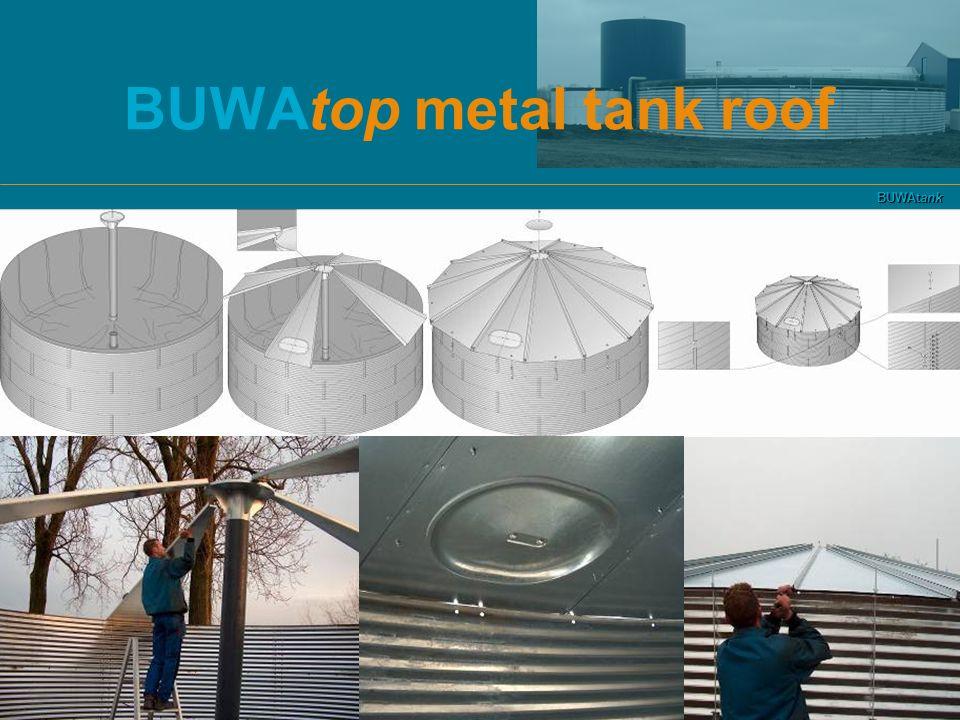 BUWAtank BUWAtop metal tank roof