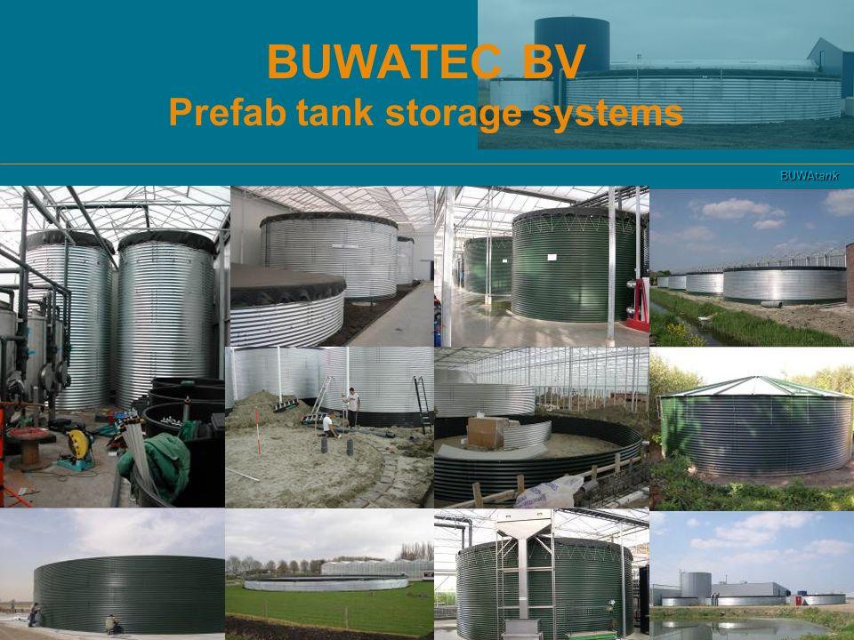 BUWAtank BUWATEC BV Prefab tank storage systems