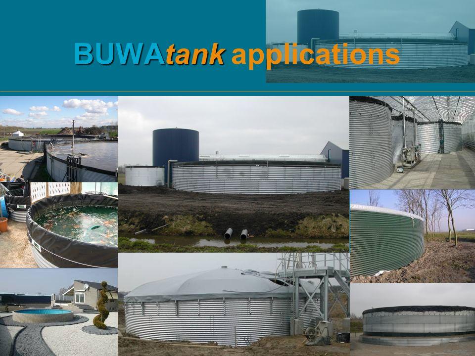 BUWAtank BUWAtank BUWAtank applications