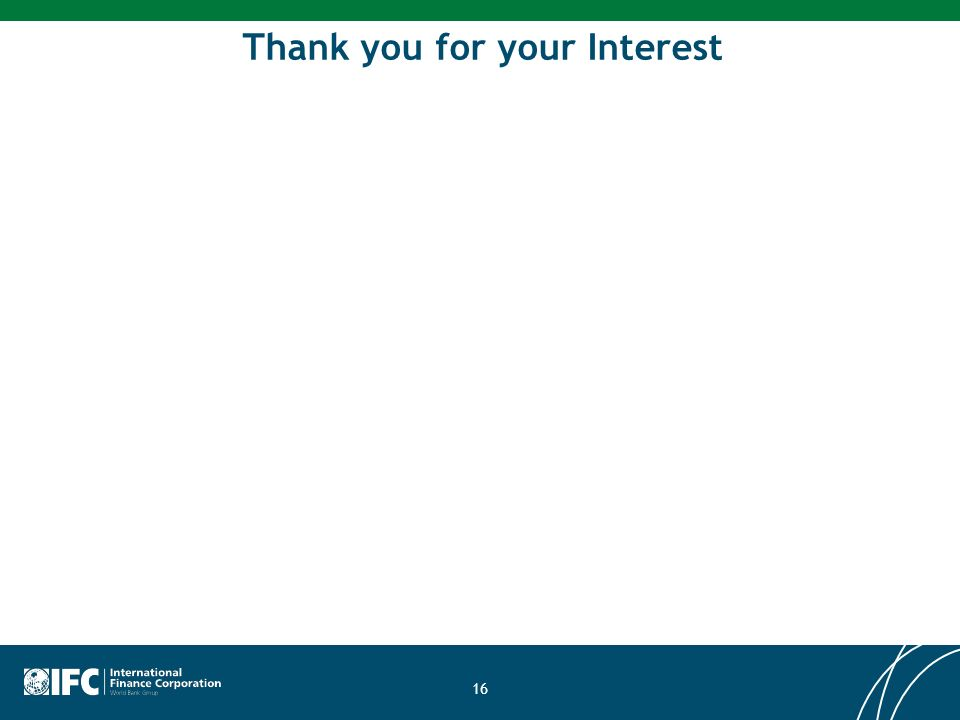 Thank you for your Interest 16