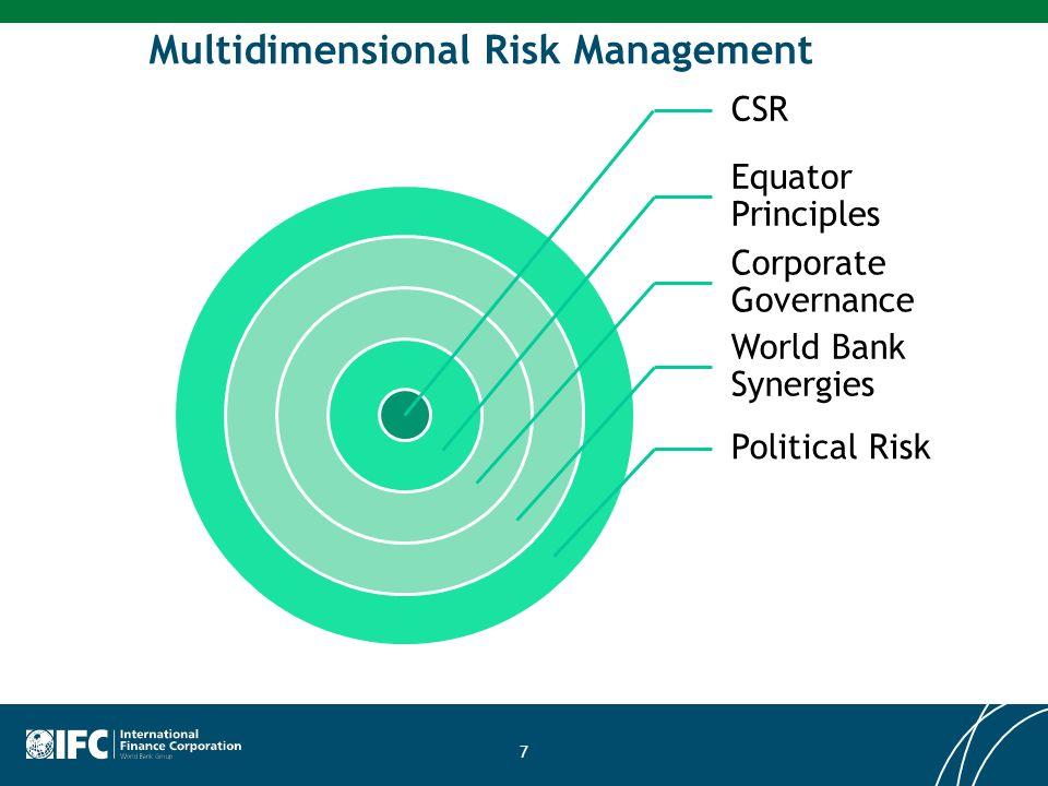 Multidimensional Risk Management CSR Equator Principles Corporate Governance World Bank Synergies Political Risk 7