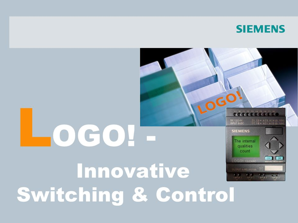 L Innovative Switching & Control OGO! - The internal qualities count