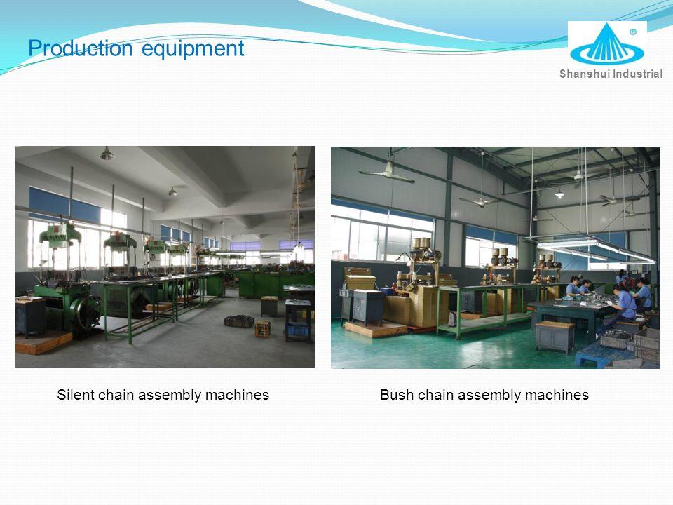 Bush chain assembly machines Shanshui Industrial Silent chain assembly machines