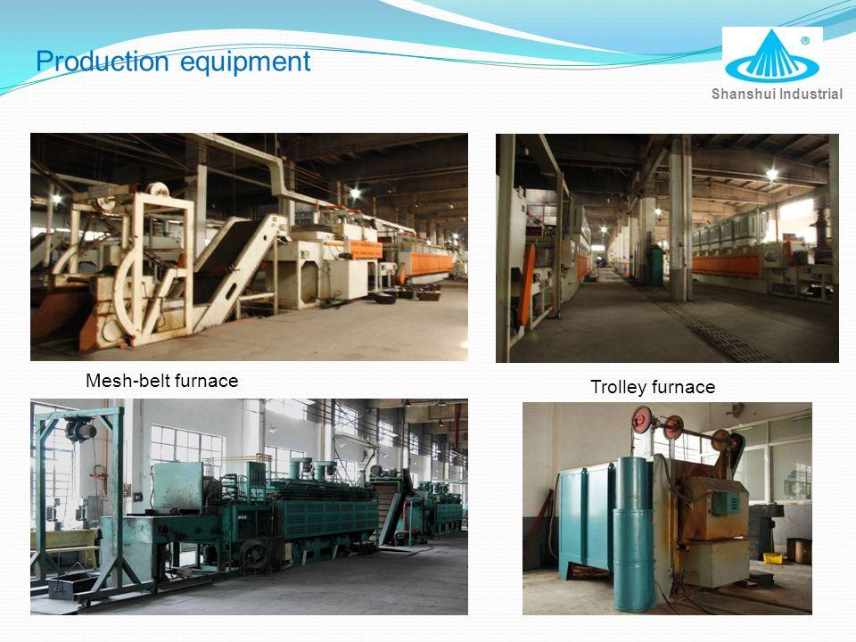 Shanshui Industrial Production equipment Trolley furnace Mesh-belt furnace