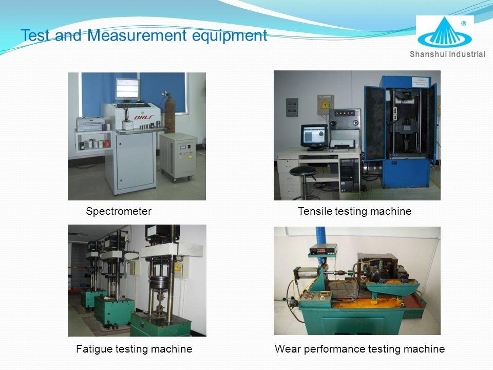 SpectrometerTensile testing machine Wear performance testing machineFatigue testing machine Shanshui Industrial Test and Measurement equipment
